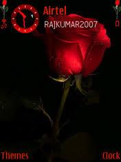 theme black rose download red n black rose nokia theme mobile toones