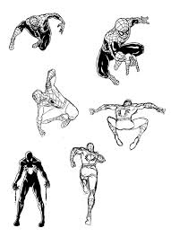 spiderman sketches 11 by ullcer on deviantart