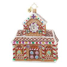 christopher radko house cottage ornaments radko ornament