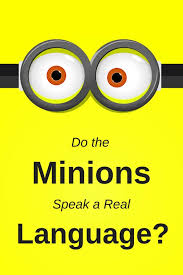 minions speak language grammar