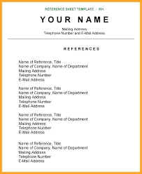 exle of resumes reference page exle resume help grand nor how title