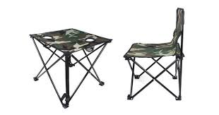 Wholesale Table And Chairs Folding Camping Sets Portable Polyester Table Chair Wholesale
