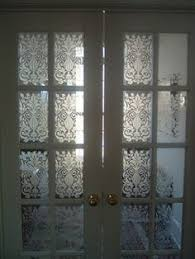 Home Windows Glass Design Diy Glass Etching To Keep Privacy In While Letting Natural Light