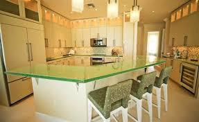 glass kitchen island glass kitchen countertops