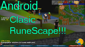 runescape for android classic runescape on android
