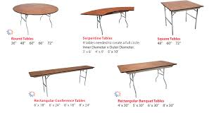 standard banquet table size fantastic standard folding table size event folding tables event