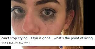 Zayn Malik Memes - 24 crazy over the top reactions to zayn malik leaving one