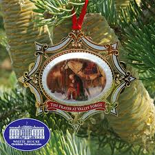 2011 mount vernon prayer at valley forge ornament