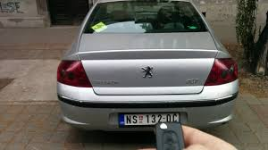 peugeot open top cars peugeot 407 automatic boot open youtube