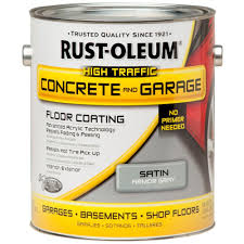 rust oleum 1 gal armor gray concrete floor paint 260724 the