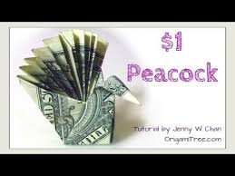 Easy Origami Peacock - money origami trust no one 745553 on onlinecgbh