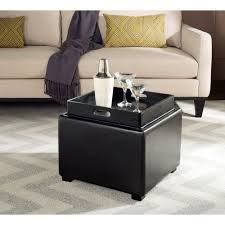 safavieh bobbi black storage ottoman hud4006b the home depot