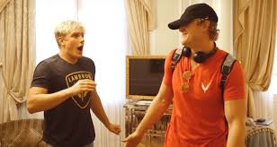 jake paul got totally surprised by his brother logan jake paul