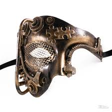 steunk masquerade mask steunk phantom masquerade mask gold m39021b beyondmasquerade
