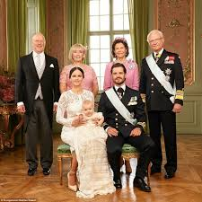 swedish royal family release official photographs of prince