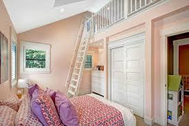 Library Bedroom Traditional Kids Bedroom With Built In Bookshelf U0026 Carpet In