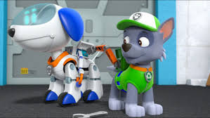 paw patrol images robo dog paw patrol hd wallpaper