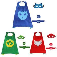 aliexpress buy pj masks costumes kids 4pcs pj masks