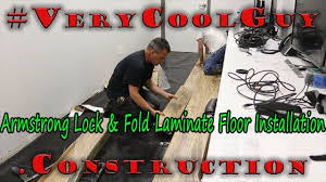 How To Install Armstrong Laminate Flooring Laminate Floor Installation Armstrong Flooring Youtube
