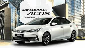 toyota altis 2016 toyota corolla altis facelift coming soon gets vsc and 7