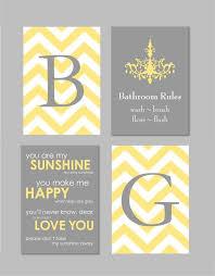yellow and gray bathroom ideas yellow and gray bathroom home decor prints you by karimachal