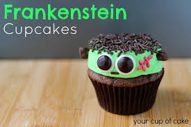 frankenstein cupcakes your cup of cake
