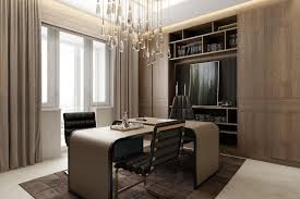 home office ceo office ceiling design new classical style modern