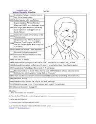 Blank Map Of Africa Pdf by Nelson Mandela Enchantedlearning Com