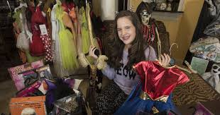 spirit halloween baton rouge it u0027s the spirit 12 year old selene roberts is a halloween superhero