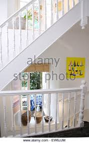 Painted Banisters White Painted Banisters On Landing Stock Photos U0026 White Painted