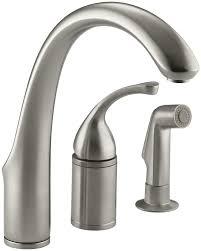 kitchen sink faucets kohler k 10430 bn forte single control remote valve kitchen sink