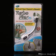 kitchen faucet extension turbo flex 360 sink faucet sprayer jet or spray 6 faucet