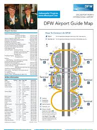 Dallas Ft Worth Map by Dallas Fort Worth Airport Map Docshare Tips