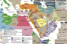 caduta impero ottomano guerre di successione ottomana limes