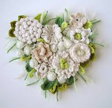 Crocheted Flowers - 52 best crochet flowers corsage images on pinterest crocheted
