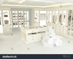 Furniture For Walk In Closet by American Luxury Walkin Closet Many Space Stock Illustration
