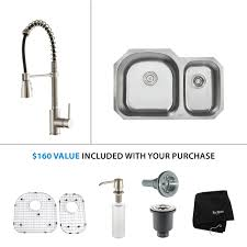 100 kitchen sink and faucet combinations elite bathroom stainless steel kitchen sink combination kraususa com