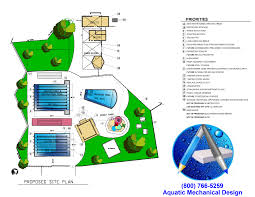 commercial swimming pool design work scope outline aquatic