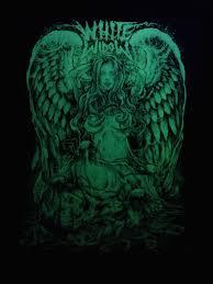godmachine white widow poster 2013 glow in the dark