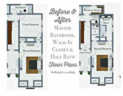 So Long Spare BedroomHello Master Bathroom Walkin Closet - Bathroom with walk in closet designs