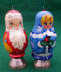 santa matryoshka ornament russian legacy