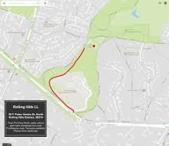 Green Circle Trail Map Rhll Field Map