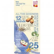 keen organic grain u0026 turkey dog food