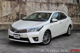 toyota corolla 1 6 2014 review 2014 toyota corolla altis 1 6 v carguide ph philippine