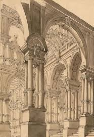 best 25 architecture blueprints ideas on pinterest drawing giuseppe galli bibiena