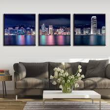 Peinture Moderne Pour Salon by Online Get Cheap Ville Hong Kong Aliexpress Com Alibaba Group