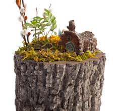 tree stump planters surreal planters u2013 a nature innovations brand