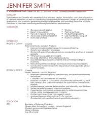 Livecareer Resume Examples by Chemist Resume Examples Resume Format 2017