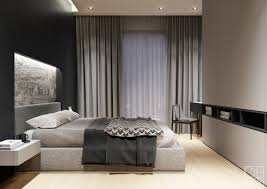black and gray room home design ideas