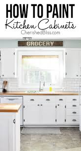kitchen cabinets on a budget how to decorate on a budget cherished bliss